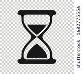 hourglass icon in flat style....   Shutterstock .eps vector #1682775556