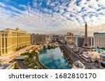 Las Vegas Strip Aerial View...