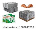 construction site. building... | Shutterstock .eps vector #1682817853