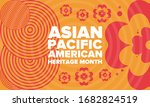 asian pacific american heritage ... | Shutterstock .eps vector #1682824519