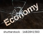 world financial crisis and...   Shutterstock . vector #1682841583
