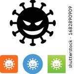 coronavirus covid 19 virus icon | Shutterstock .eps vector #1682890909