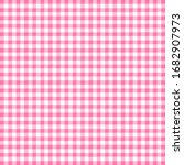 tablecloth pattern pink design... | Shutterstock .eps vector #1682907973