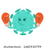 angry cartoon character of...   Shutterstock .eps vector #1682910799