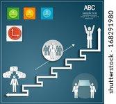 office life  infographic...   Shutterstock .eps vector #168291980