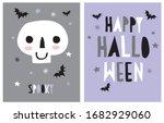 halloween vector decoration for ...   Shutterstock .eps vector #1682929060