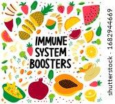 human health immune system... | Shutterstock .eps vector #1682944669