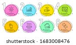 speakers  graph chart and like...   Shutterstock .eps vector #1683008476