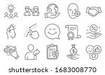 set of people icons  such as... | Shutterstock .eps vector #1683008770