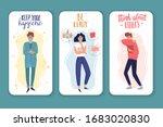 quarantine and the flu virus...   Shutterstock .eps vector #1683020830