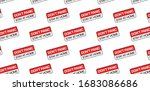 don't panic and stay at home ... | Shutterstock .eps vector #1683086686