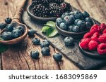 Fresh Berries With Raspberries  ...