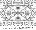 abstract geometric pattern with ... | Shutterstock . vector #1683117613