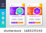 colorful creative company and... | Shutterstock .eps vector #1683155143
