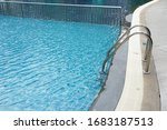 Swimming Pool With Stair In Th...
