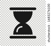hourglass icon in flat style....   Shutterstock .eps vector #1683276100