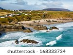 sango bay beach at durness one... | Shutterstock . vector #168333734