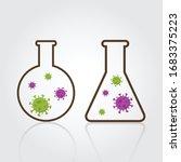coronavirus  covid 19  vector... | Shutterstock .eps vector #1683375223