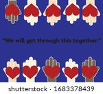 we will get through this...   Shutterstock .eps vector #1683378439