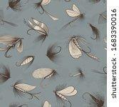 go fishing theme seamless... | Shutterstock .eps vector #1683390016