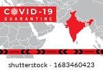 pandemic coronavirus outbreak... | Shutterstock .eps vector #1683460423