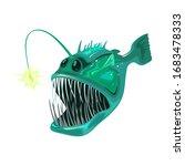 Angler Fish Is Bony Predatory...