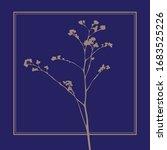 meadow grass. vector flat image.... | Shutterstock .eps vector #1683525226