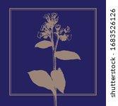 meadow grass. vector flat image.... | Shutterstock .eps vector #1683526126