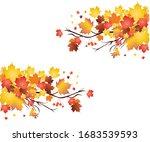 Autumn Maple Leaves In Canada ...