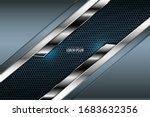 elegant metallic background... | Shutterstock .eps vector #1683632356
