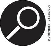 magnifying glass | Shutterstock .eps vector #168367109