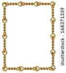 design rectangular frame | Shutterstock . vector #168371339