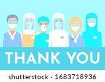 postcard. novel coronavirus ... | Shutterstock .eps vector #1683718936