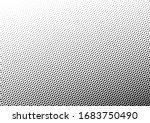 dots background. monochrome... | Shutterstock .eps vector #1683750490