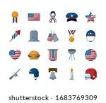 flat style icon set design ...   Shutterstock .eps vector #1683769309