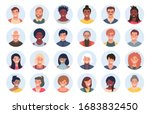 set of persons  avatars  people ... | Shutterstock .eps vector #1683832450
