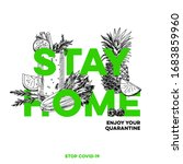 stay home  best protection... | Shutterstock .eps vector #1683859960