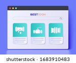 set industry metallic pipes and ...   Shutterstock .eps vector #1683910483