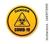 stop covid 19 sign   symbol ...   Shutterstock .eps vector #1683973909
