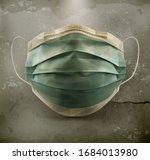 medical mask  surgical mask on... | Shutterstock .eps vector #1684013980
