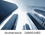 office building as the... | Shutterstock . vector #168401483