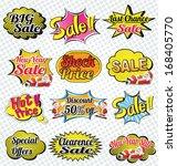 set of promotion sale element | Shutterstock .eps vector #168405770