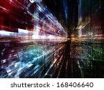 city lights series. design... | Shutterstock . vector #168406640