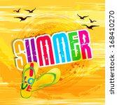 Summer Holidays Illustration  ...