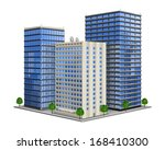 office building | Shutterstock .eps vector #168410300