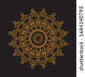 Mandala Art Ornament  Ethnic...