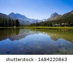 Stunning Mountain Range And...