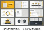 best geometric presentation... | Shutterstock .eps vector #1684250086