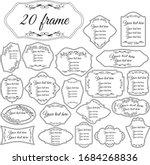 vector illustration. set of... | Shutterstock .eps vector #1684268836