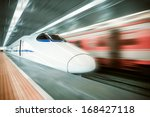 High Speed Train Passing...